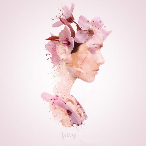 """""""spring"""" della serie Seasonal Beauties"""